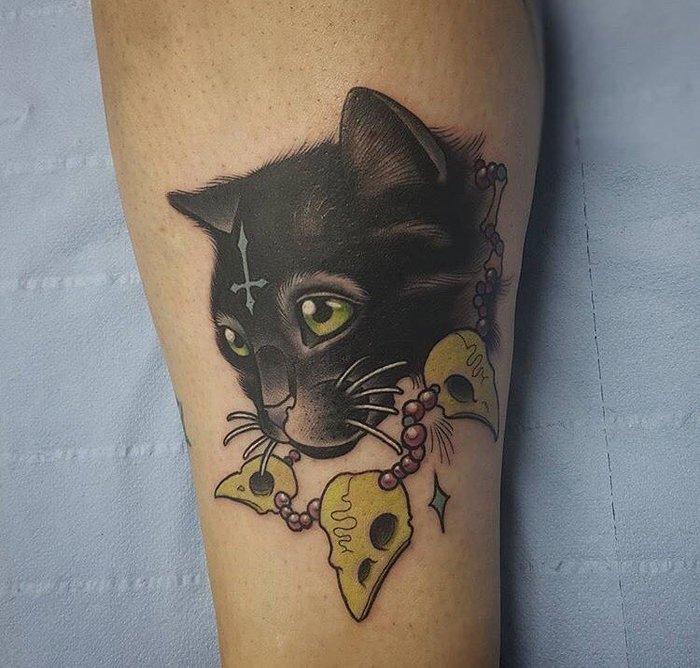 40 Best Cat Tattoo Designs for Cat Lovers
