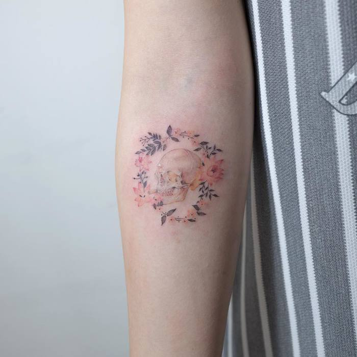 Minimalist and Delicate Tattoos by Sol Tattoo