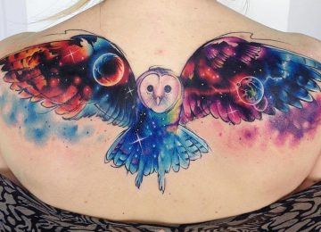 50 Beautiful Owl Tattoo Designs