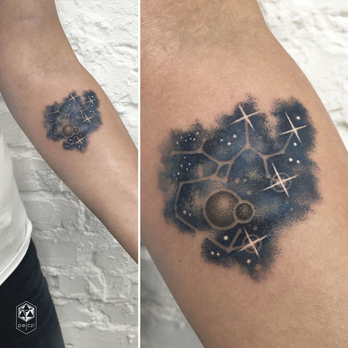 Stunning Galaxy Tattoos By Ola Pelczarska