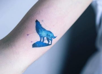 30+ Gorgeous Blue Ink Tattoos