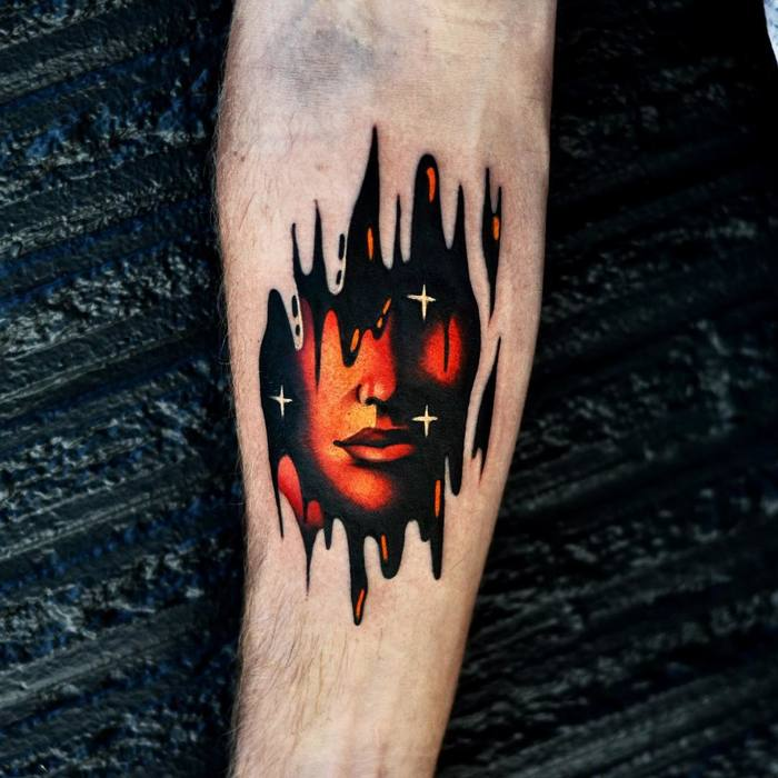 David Cote's Psychedelic Tattoos Are Inspired by His Dreams