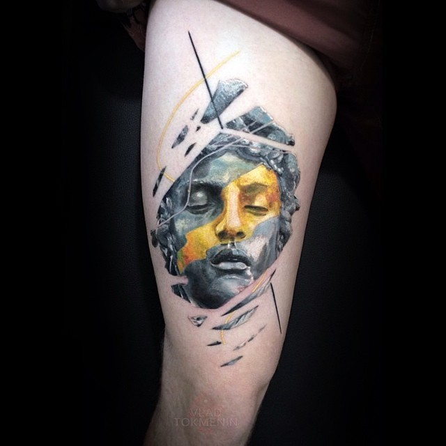 Stunning graphic tattoos by vlad tokmenin page 2 of 2 for Georgie williams tattoo