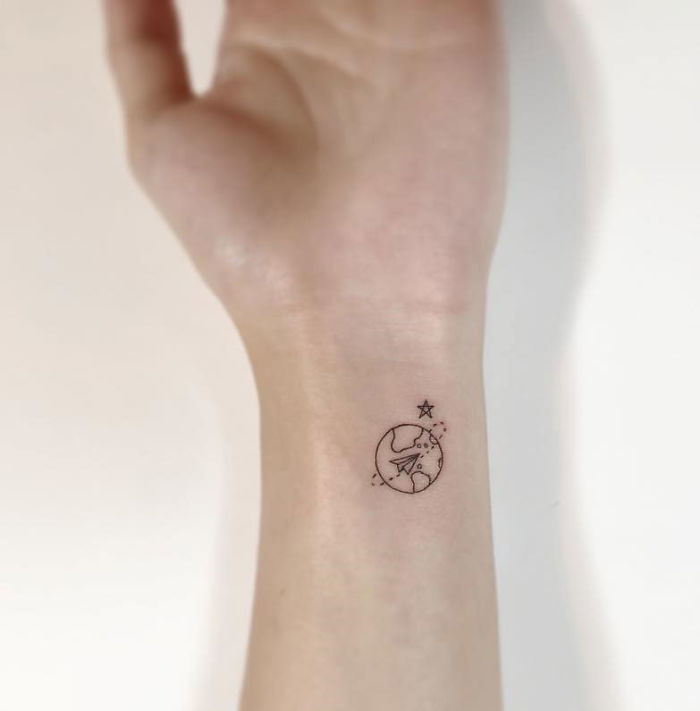 Minimalist Tattoo By Playground Tattoo