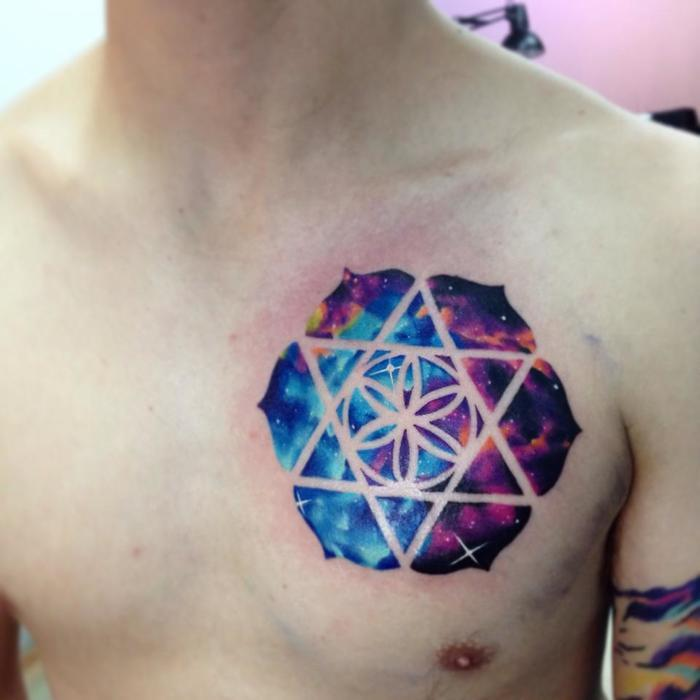 Watercolor Tattoo By Adrian Bascur