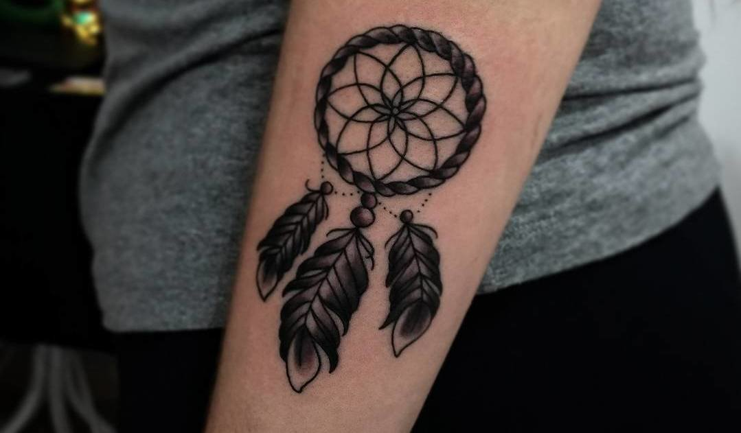 Dreamcatcher Tattoo by Derek Padilha