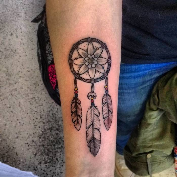 Dreamcatcher Tattoo by Tyler Hague