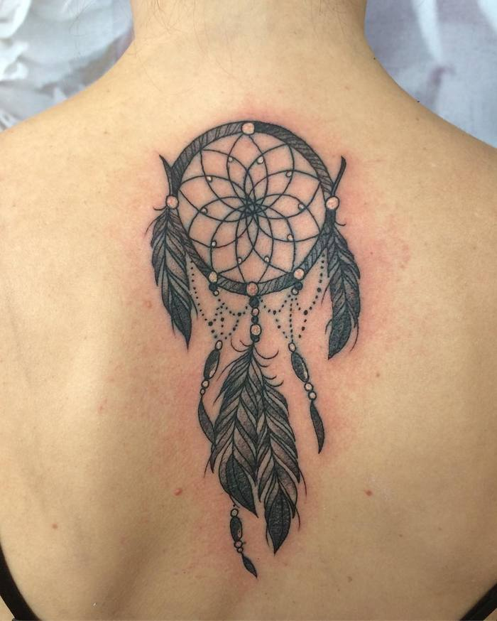 Dreamcatcher Tattoo by Gaynor Weatherill
