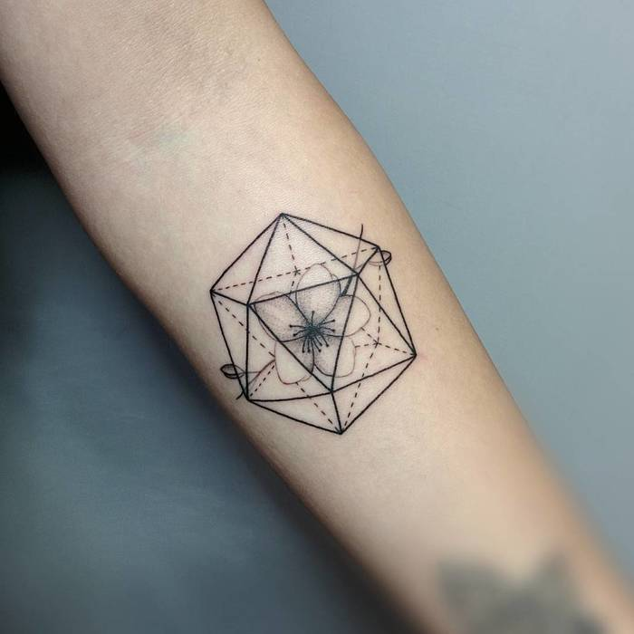 Geometric Tattoo by Michele Volpi