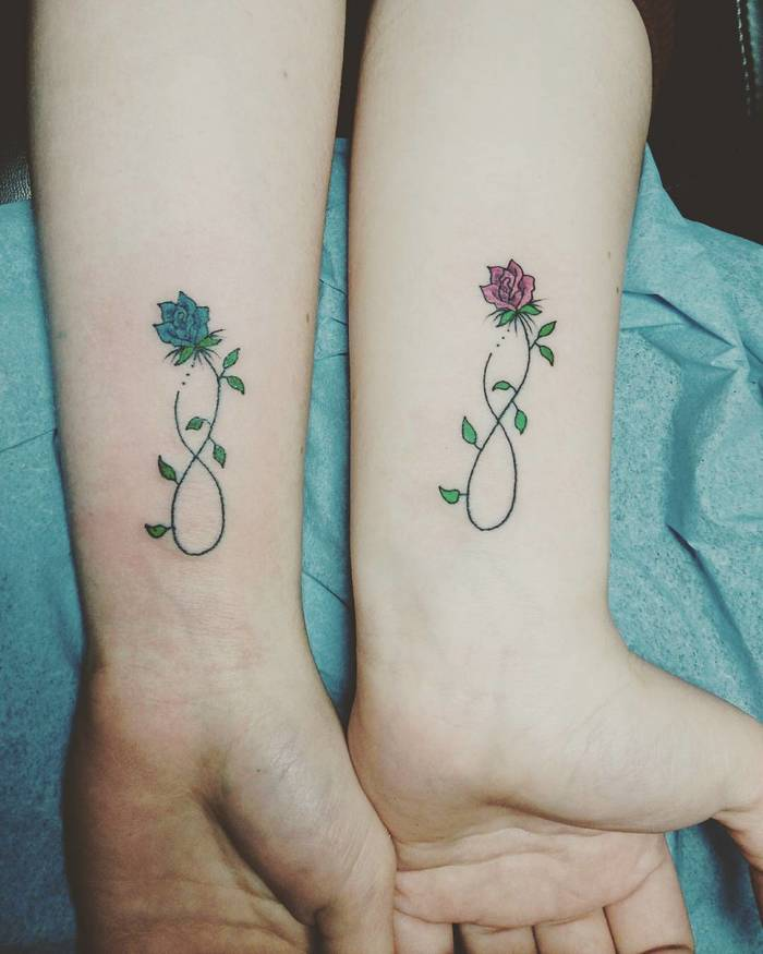 50 Powerful Matching Tattoos To Share With Someone You Love Tattoobloq