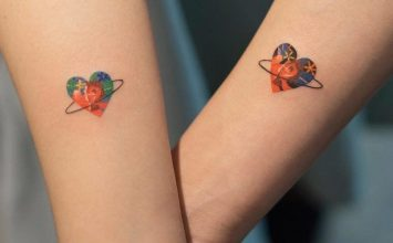 50 Powerful Matching Tattoos To Share With Someone You Love