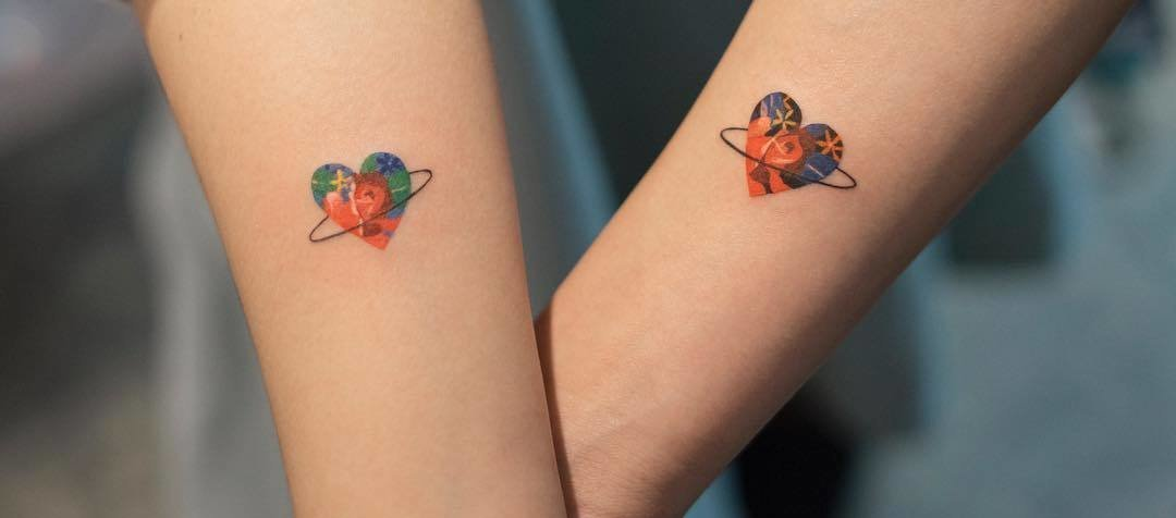50 Powerful Matching Tattoos To Share With Someone You Love Page 2 Of 5 Tattoobloq