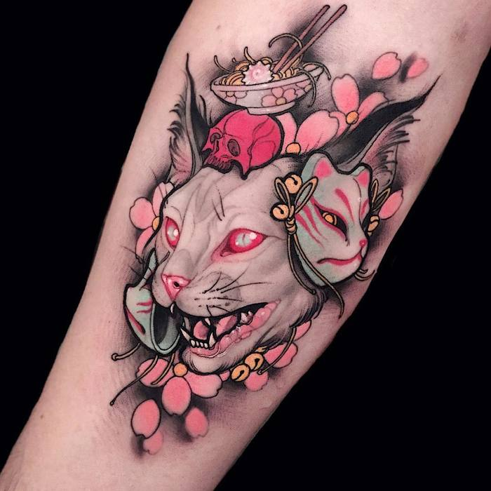 The Vibrant Tattoos of Brando Chiesa