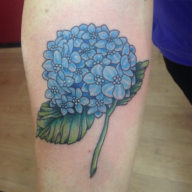 40 extraordinary ufo tattoo designs for alien enthusiasts - 20 Splendid Hydrangea Tattoo Designs Tattoobloq