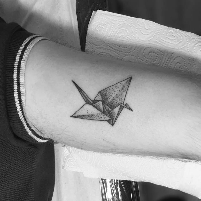 paper crane tattoo meaning - photo #26