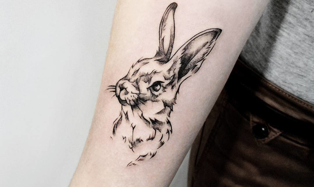 40 Adorable Rabbit Tattoo Design Ideas