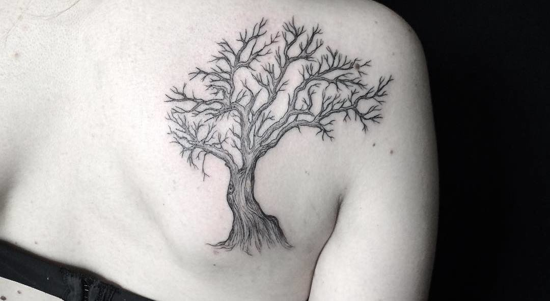 50 Mighty Tree Tattoo Designs and Ideas