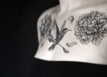 The Beautiful Dotwork Tattoos of Gael Ricci
