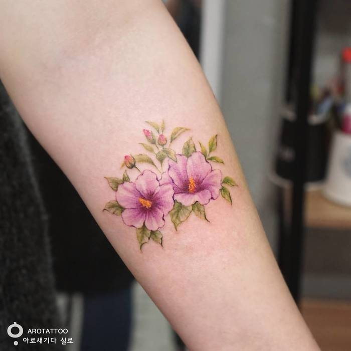 delicate floral designs by tattooist silo page 2