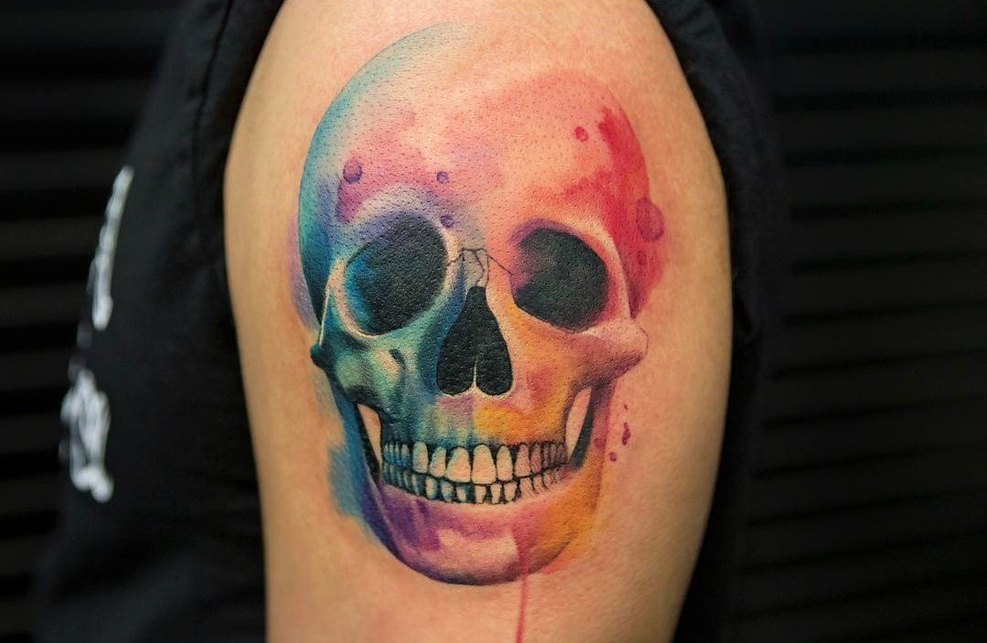 b83b2ec75 60 Best Skull Tattoo Designs and Ideas - TattooBloq