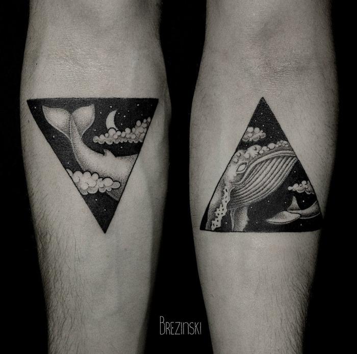 The Surreal Dotwork Tattoos of Ilya Brezinski