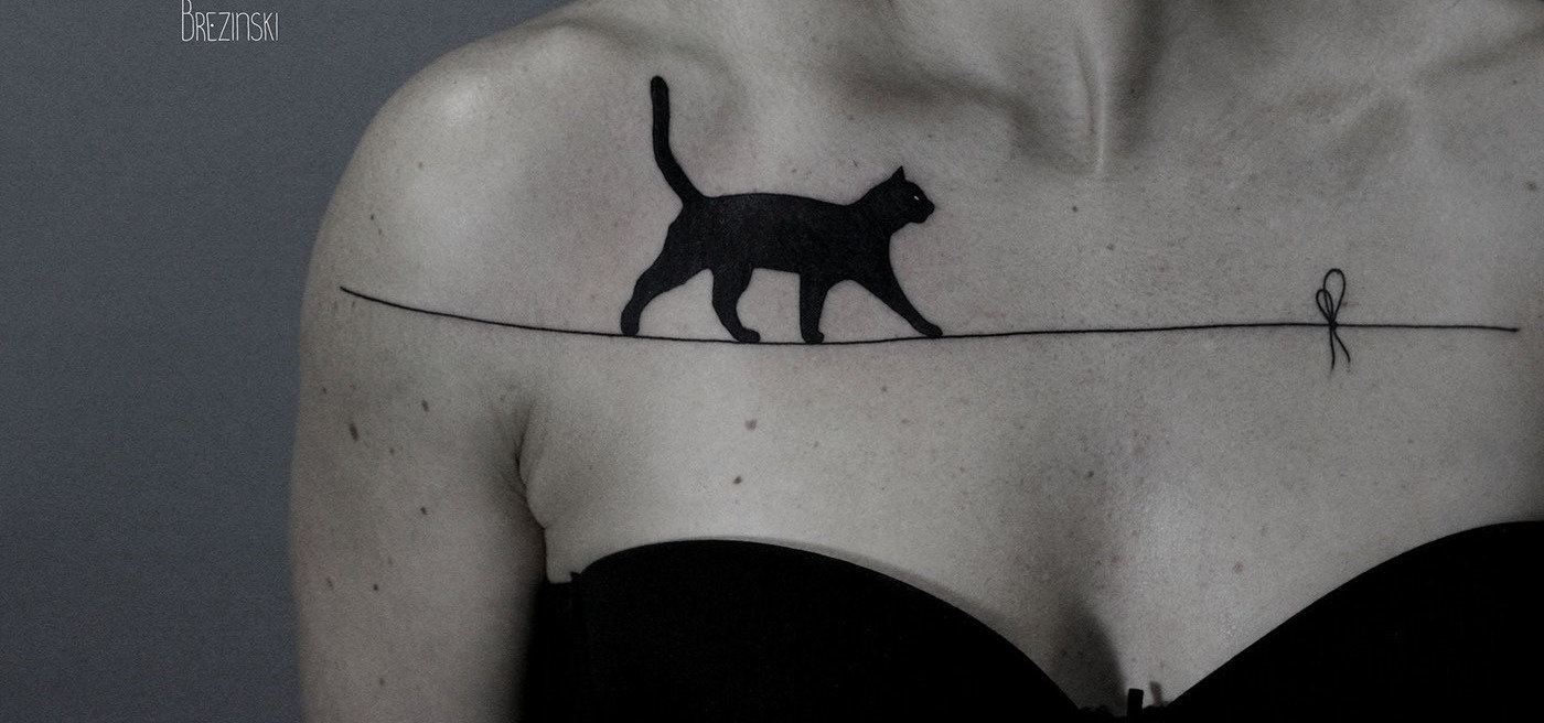 The Surreal Dotwork Tattoos of Ilya Brezinski