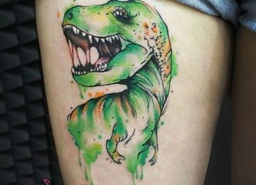 33 Best Dinosaur Tattoo Designs And Ideas