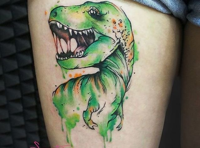 Dinosaur Tattoo-