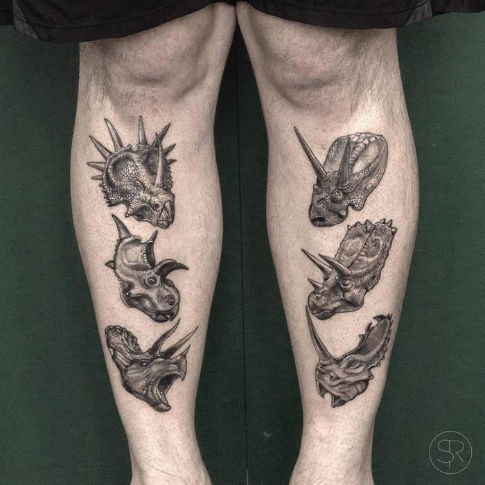 33 best dinosaur tattoo designs and ideas page 3 of 3 for Best tattoo artists in nyc 2017