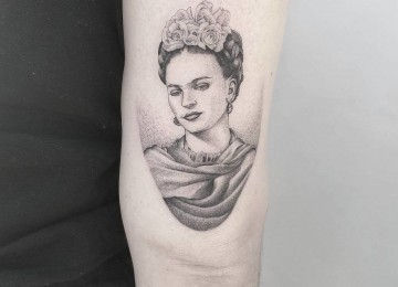 30 Creative Frida Kahlo Tattoo Designs