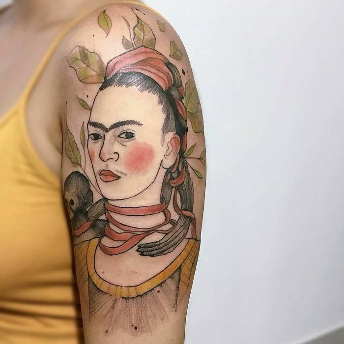Frida Kahlo by Felipe Mello