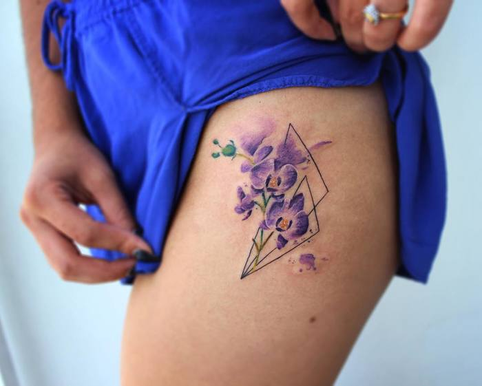 Purple Orchids by bryan.gee