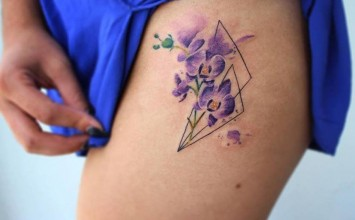 29 Gorgeous Orchid Tattoo Designs and Ideas