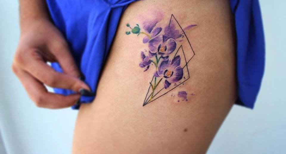 30 Gorgeous Orchid Tattoo Designs and Ideas