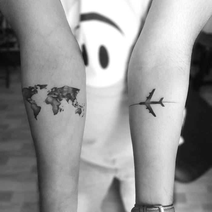 Airplane Tattoo by pranayooo