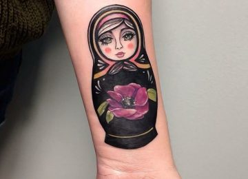 24 Beautiful Matryoshka Tattoo Designs and Ideas
