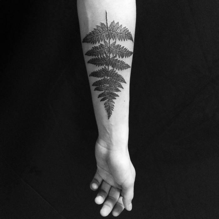 Fern Tattoo by mary_tereshchenko