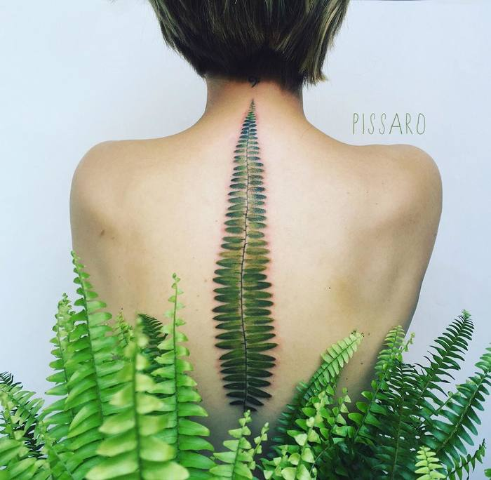 Fern Tattoo by pissaro_tattoo