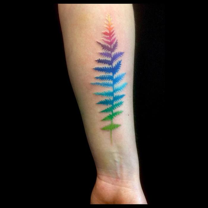 Fern Tattoo by amandachanfreau