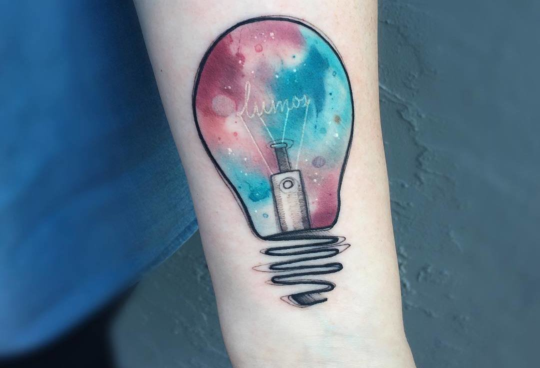 50 Most Creative Light Bulb Tattoo Designs and Ideas