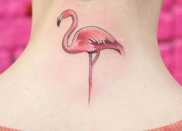 60 Graceful Flamingo Tattoo Designs and Ideas