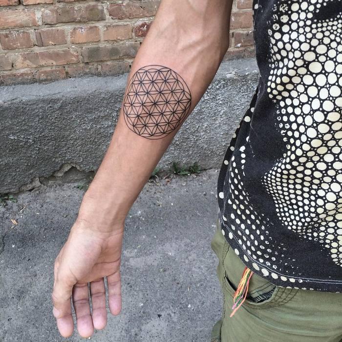 Flower of Life Tattoo bymary_tereshchenko