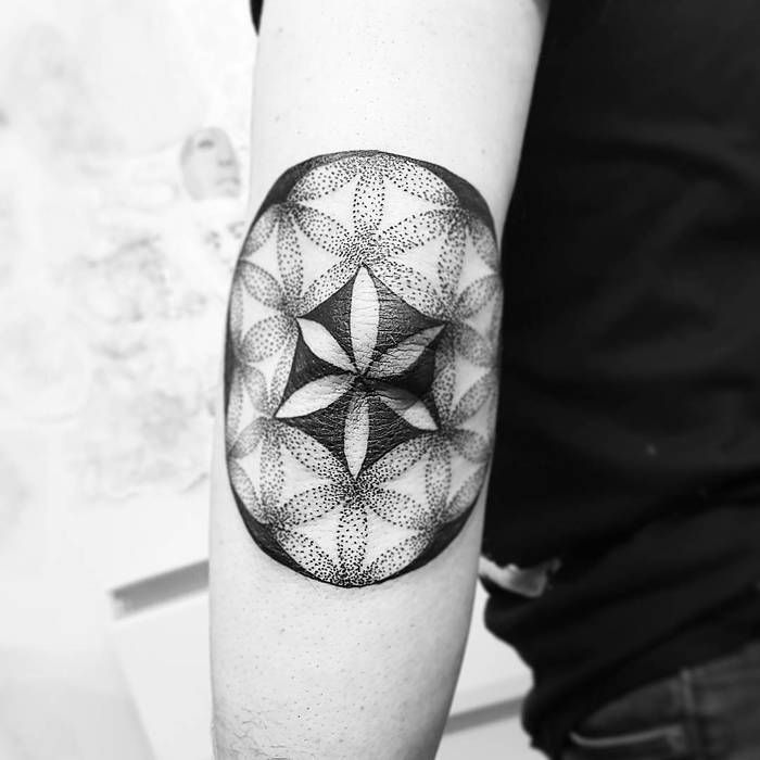 Flower of Life Tattoo by ninilees