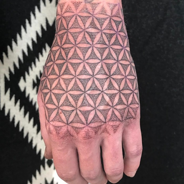 Flower of Life Tattoo by aprilcornell