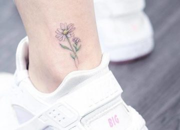 30 Subtle and Delicate Pastel Tattoos by Mini Lau
