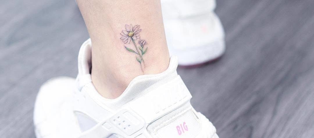 Subtle and Delicate Pastel Tattoos by Mini Lau