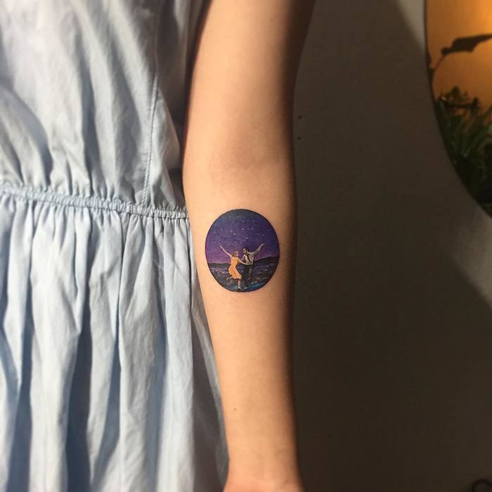 La La Land Tattoo by tattooistmuha
