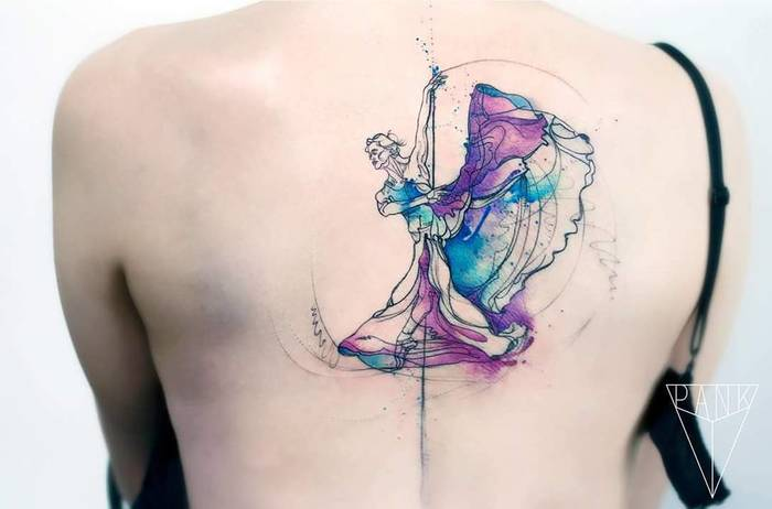 Ballerina Tattoo by miss_pank