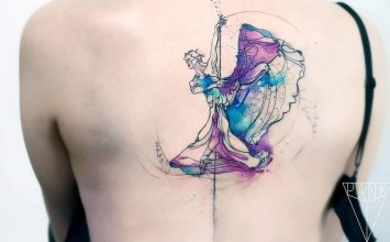 33 Graceful Ballerina Tattoo Designs and Ideas