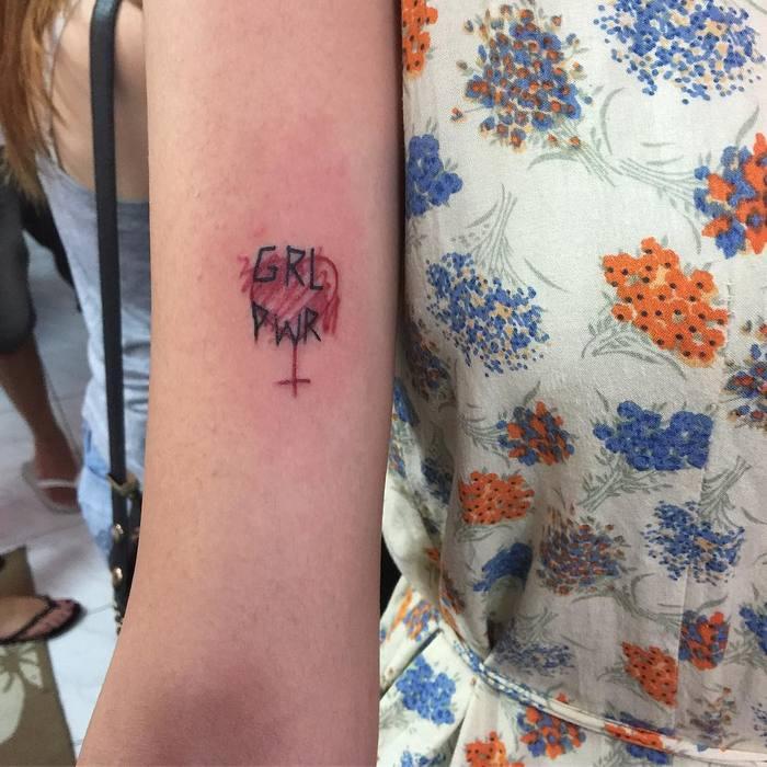 Grl Pwr Tattoo by marilyn777_